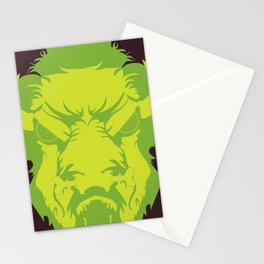 Bison Witch Stationery Cards