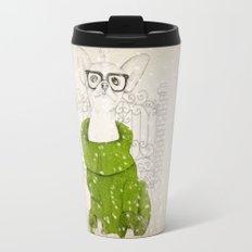 Hipster Chiuaua Travel Mug