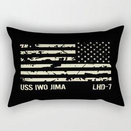 USS Iwo Jima Rectangular Pillow