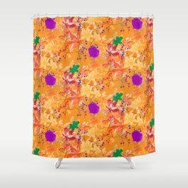 Fall Fire Shower Curtain