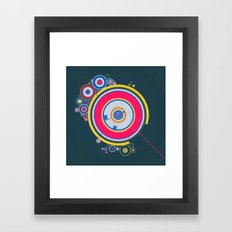 GENERATED WOR (everyday 08.28.15) Framed Art Print