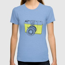 Diana F+ Glow - Plastic Analogue Camera T-shirt