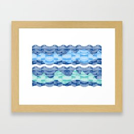 waves 2 Framed Art Print