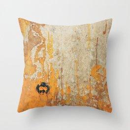 Bowl Skull I Part I Throw Pillow