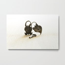 Support Metal Print