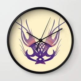 Coastal Tribe Wall Clock