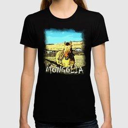 Mongolia Horse Treks (at Mountain Rubia) T-shirt