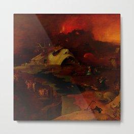 "Hieronymus Bosch (follower) ""Christ's Descent into Hell"" Metal Print"