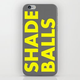 SHADE BALLS iPhone Skin