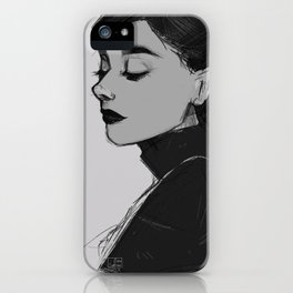 Audrey Hepburn - Portrait iPhone Case