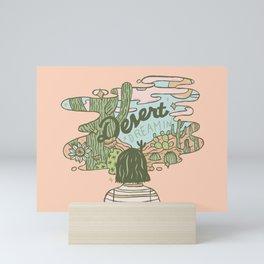 Desert Dreamin' Mini Art Print