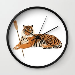 Crew Tiger Wall Clock