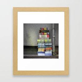 COLORS CIRCULARS Framed Art Print