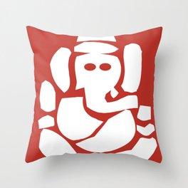 Ganesh - Hindu God Throw Pillow