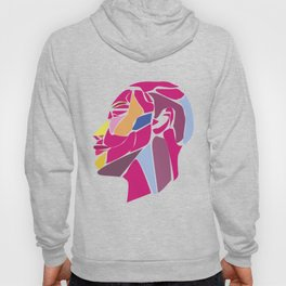 Modern Abstract with Structure Head - Face Hoody