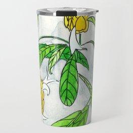 Caribbean Candela flower Travel Mug