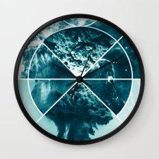 Atomic Space Wall Clock