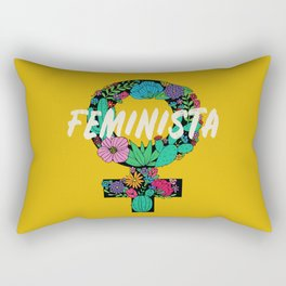 Feminista Rectangular Pillow