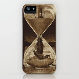 Sands of Time ... Memento Mori - Sepia iPhone Case