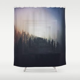 Fractions A87 Shower Curtain