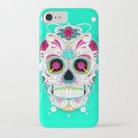 calavera iPhone & iPod Cases featuring Calavera by yoaz