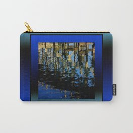 little lost grebe (square) Carry-All Pouch