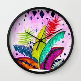 My Tropicana Garden Wall Clock
