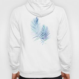 Feathery Palm Leaves Hoody