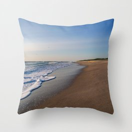 Canaveral National Seashore Throw Pillow