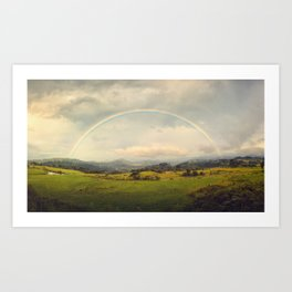 Rainbow Sublime Art Print