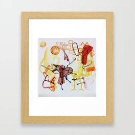Where's the Giraffe Framed Art Print