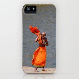 The Tungabhadra River, Hampi, India. iPhone Case