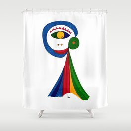 Picaesk #01 Shower Curtain