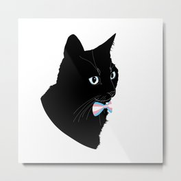 Pride Cat Metal Print