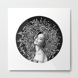 In her smile Metal Print