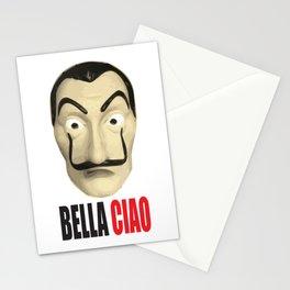 Dalí Mask La Casa de Papel Bella Ciao Stationery Cards
