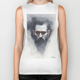 Reproduction of Casey Baugh Artwork Biker Tank
