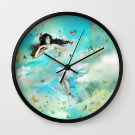 Mariposa Wall Clock