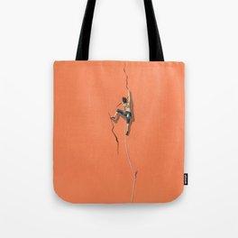 Climbing: Solitude Tote Bag