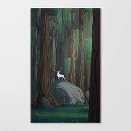 Into the woods 1 Canvas Print