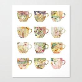 The art of Tea Canvas Print
