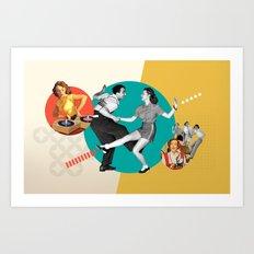 Tempi moderni / Modern times Art Print