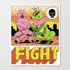 FIGHT! Canvas Print