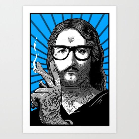 Jesus Bane #02 Art Print