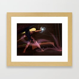 Jailbreak Punish Framed Art Print
