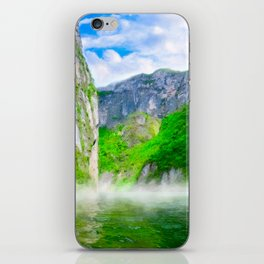 Morning Mists Inside Sumidero Canyon - Chiapas Mexico iPhone Skin
