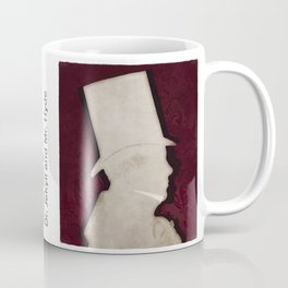 Robert Louis Stevenson, Dr. Jekyll and Mr. Hyde - Minimalist Literary Design Coffee Mug
