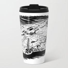 Millenium Falcon Metal Travel Mug