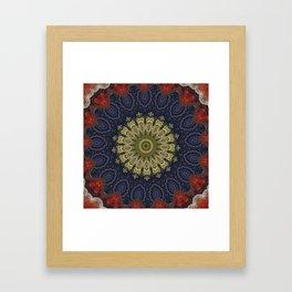 Better than Yours Colormix Mandala 9 Framed Art Print