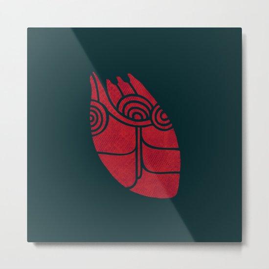 (heart) Metal Print